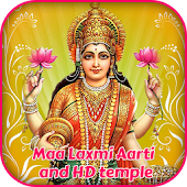 Maa Laxmi Aarti And 3D Temple