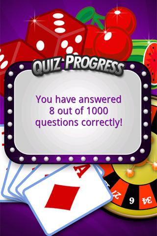 FreePlay Casino Quiz - screenshot
