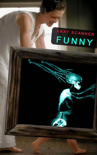 X射線掃描儀搞笑 惡作劇