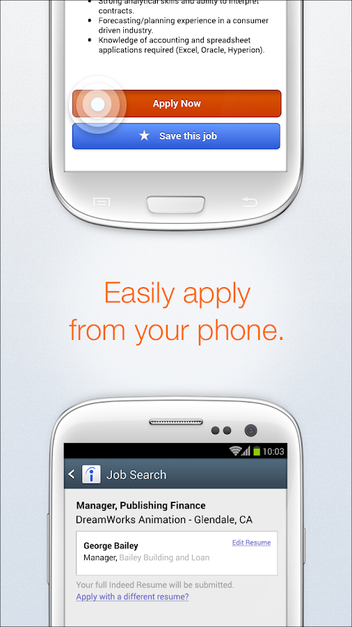 Indeed Job Search- screenshot