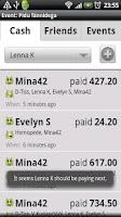 Screenshot of Share Event eXpenses