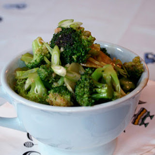 Broccoli with Garlic Sauce.