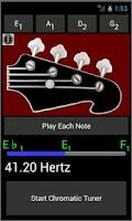 Screenshot of Bass Guitar Tuner and Strings