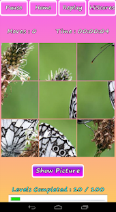 Butterfly Photo Puzzle Screenshot 11