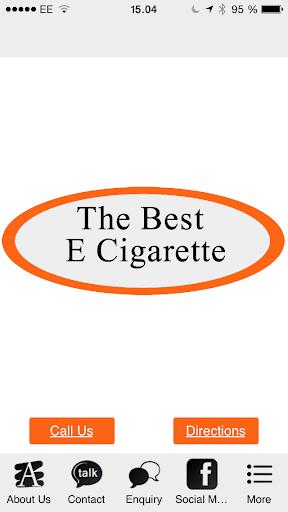 The Best E-cigarette