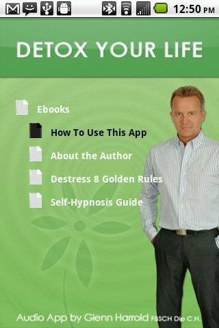 DetoxYourLife by Glenn Harrold - screenshot