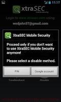 Screenshot of XtraSEC Phone Locator