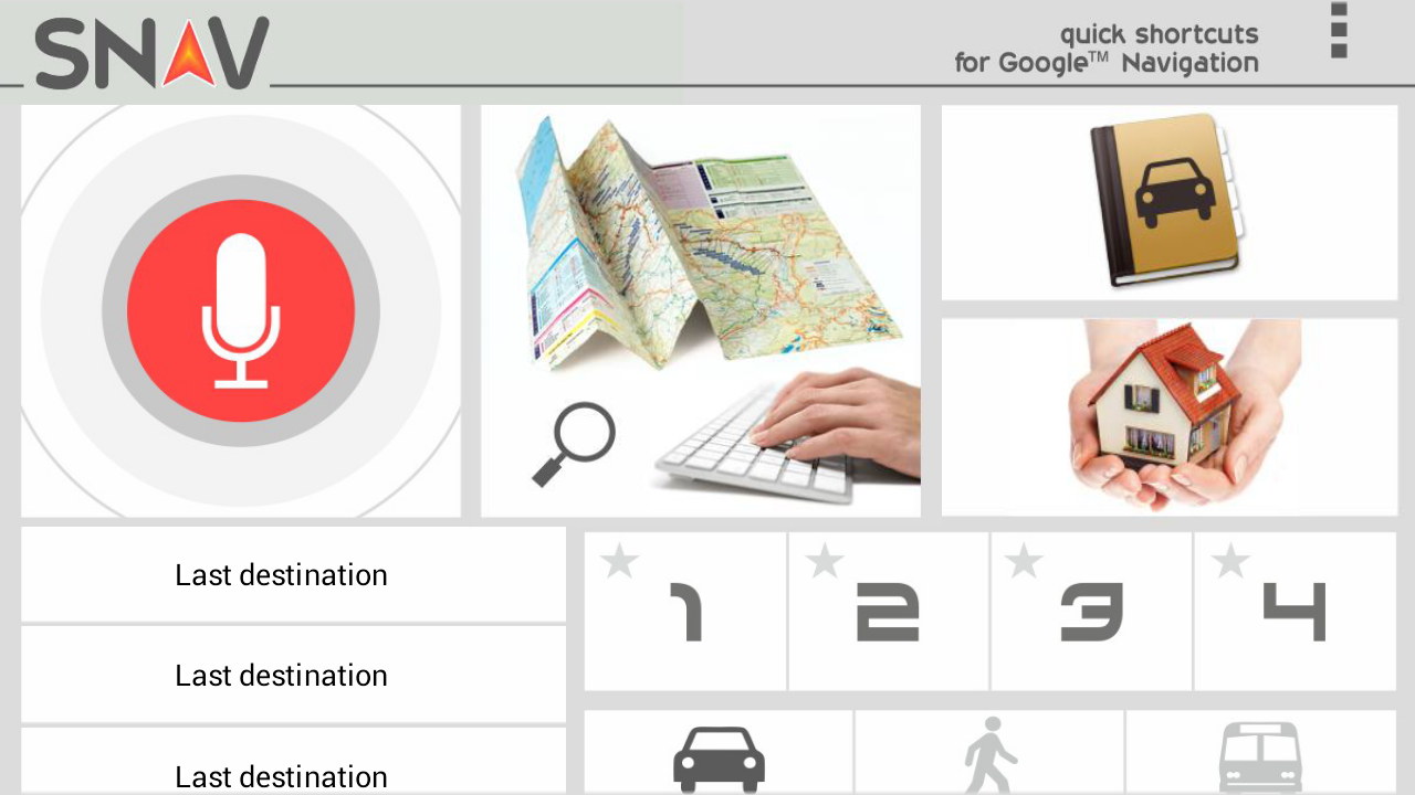 SNAV google™ navigator free - screenshot