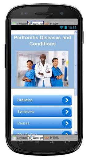 Peritonitis Disease Symptoms