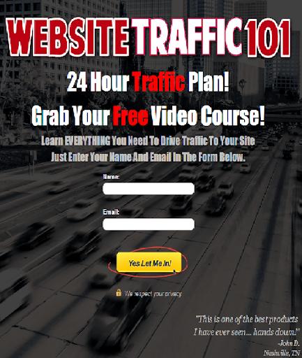 【免費商業App】Website Traffic 101-APP點子