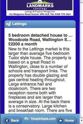 Landmarks Estate Agent