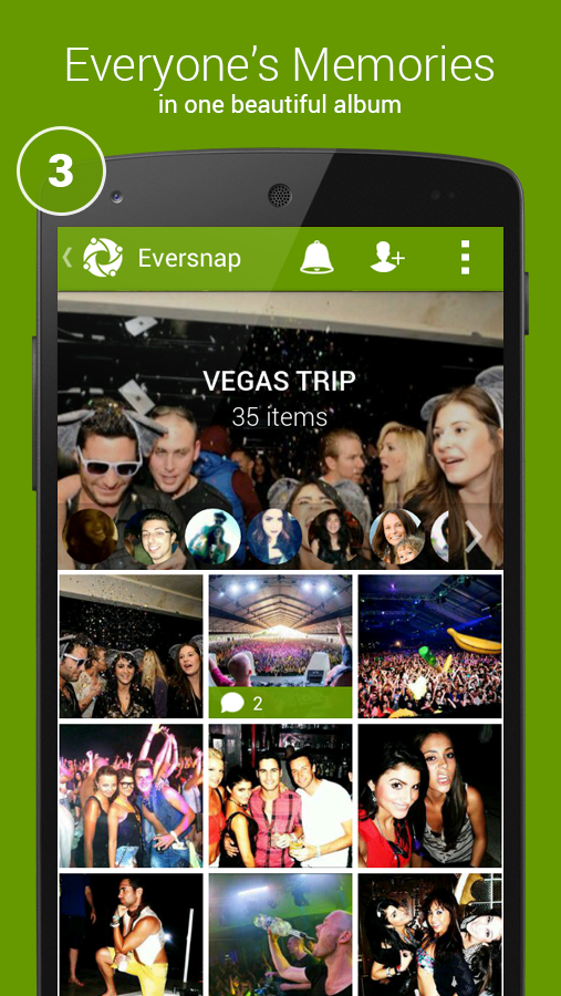 Eversnap Private Photo Album - screenshot