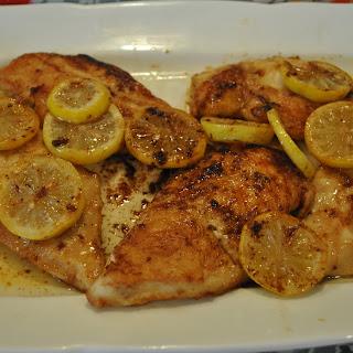 Lemon Butter Chicken Breast