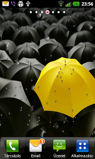 HIMYM Raining Live Wallpaper