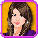 Selena Gomez Celebrity Dressup icon