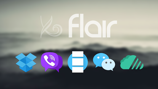 Flair - Icon Pack v1.2.0