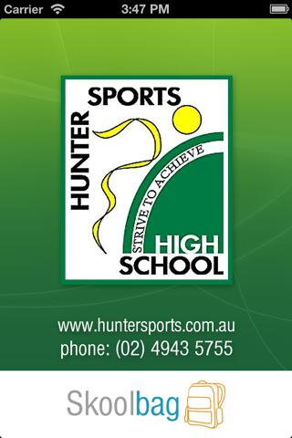 Hunter Sports High - screenshot