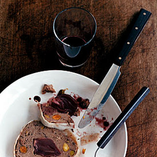 Duck Terrine with Wine-Glazed Shallots.
