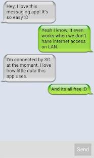 Peerchat Lan Messenger - screenshot thumbnail
