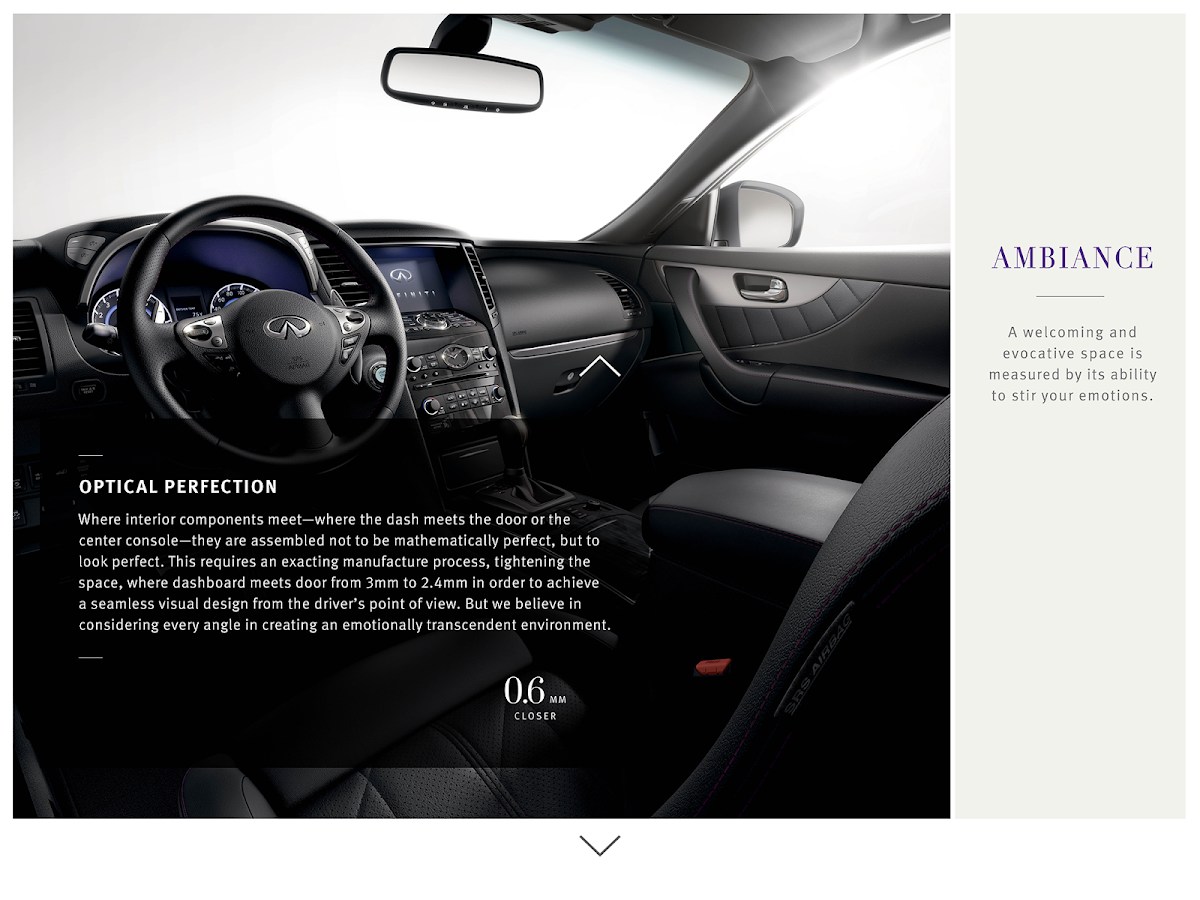 Infiniti Portfolio - screenshot