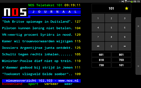 NOS Teletekst- screenshot thumbnail