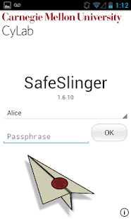 SafeSlinger - screenshot thumbnail