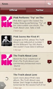 P!nk - screenshot thumbnail