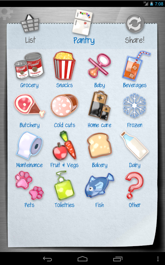 Shopping List - ListOn Free - screenshot