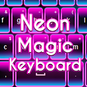 Neon Magic Keyboard