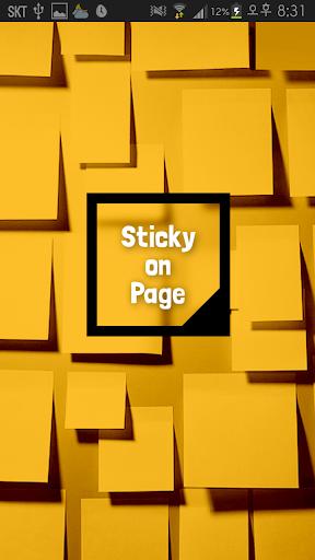 Sticky On Page