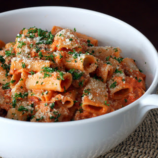 Rigatoni With Sausage and Parmesan
