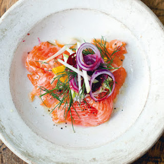 Salmon, Fennel, and Apple Salad