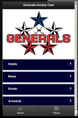 Generals Hockey Club