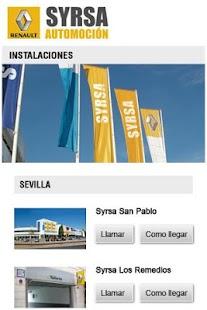 Renault Syrsa Automoción - screenshot thumbnail