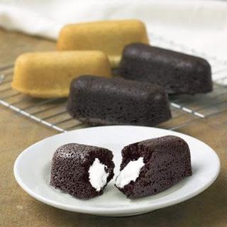 Vanilla Cream Boat Cakelets
