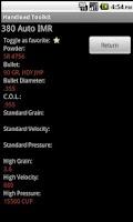 Screenshot of Handload Toolkit