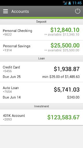 Nusenda Credit Union - Mobile