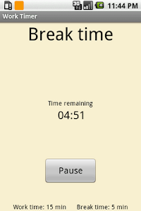 Get-it-Done Timer Lite screenshot 1