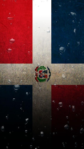 Republica Dominicana flag LWP