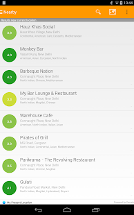 Eattr- India Restaurant Finder- screenshot thumbnail