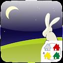 【無料】月とうさぎのテーマ forきせかえランチャー icon