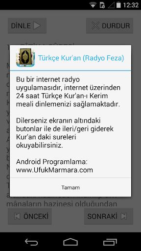 Türkçe Kur'an Radyo Feza