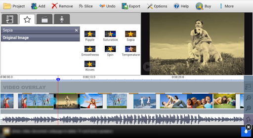 VideoPad Video Editor Free  screenshots 2