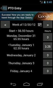 PTO Tracker Free- screenshot thumbnail
