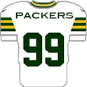 Packers theme 12in1 w/GoSMS icon
