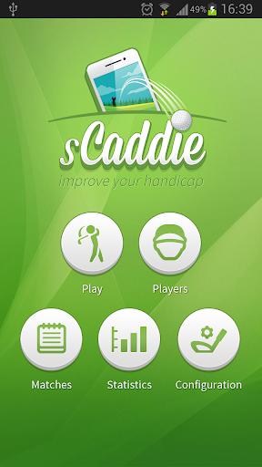 sCaddie: Golf GPS Scorecard