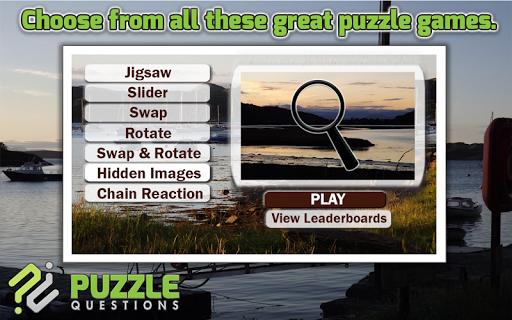 Free Scottish Highlands Puzzle