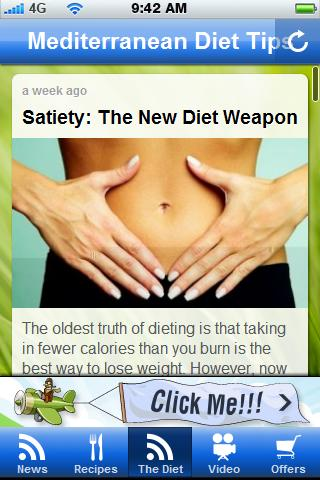 Mediterrean Diet Tips. - screenshot