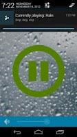 Screenshot of Mood Rain