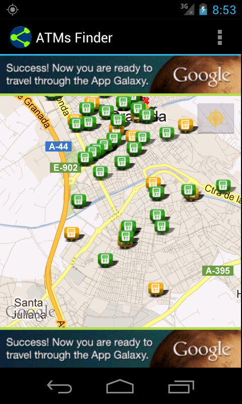 ATMs Finder - screenshot